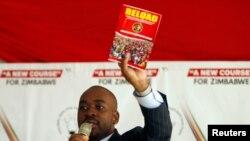 Nelson Chamisa ayoboye umugambwe utavuga rumwe na Reta, muri Zimbabwe avuga ko abantu indwi bakomeretse, harimwo umwe aremvye bikomeye.