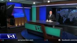 Gazetari Ilir Ikonomi përshëndet audiencën në ditën e fundit të një karriere të shënuar në Zërin e Amerikës