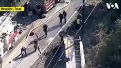 NO COMMENT- Թեքսասում դպրոցական ավտոբուս է վթարի ենթարկվել