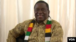 Mutungamiri wenyika VaEmmerson Mnangagwa June 25, 2019. (Columbus Mavhunga/VOA)