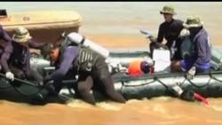 2013-10-21 美國之音視頻新聞: 老撾找到墜入湄公河失事飛機39具屍體