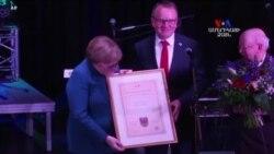 NO COMMENT - Գերմանիայի կանցլեր Անգելա Մերկելին իր հայրենի Տեմպլին քաղաքում փետրվարի 8-ին Տեմպլինի պատվավոր քաղաքացու կոչում են շնորհել