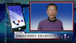VOA连线:安徽副省长频频落马,贪腐太盛官场太黑?