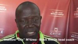 Nangu uStix M'tizwa weBlack Rhinos