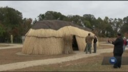 Вігвам називається: у США відтворили індіанське поселення. Відео