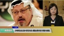 VOA连线(李逸华):沙特阿拉伯记者卡舒吉失踪,美国会要求进行调查与制裁