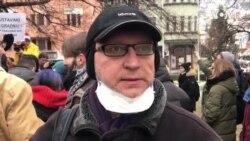 Učesnik protesta: Dosadilo mi je da mrzim decembar i januar