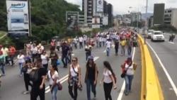 Marcha de la oposición venezolana