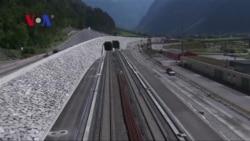 World's Longest, Deepest Rail Tunnel Runs Through Swiss Alps
