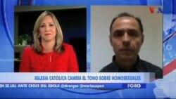 Foro analiza: cambio de tono hacia homosexuales de la iglesia católica