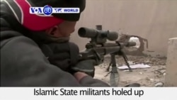 VOA60 World PM - Iraqi Forces Battle Last IS Fighters in Ramadi