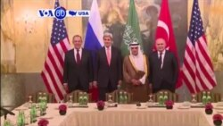VOA60 America- Major powers meet in Vienna on the future of Syria
