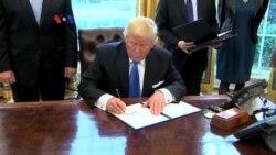 Presiden Trump Siap Bangun Tembok Perbatasan AS-Meksiko