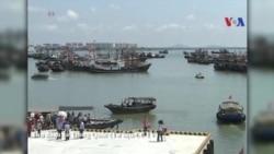 Malaysia điều tàu hải quân đối phó 100 tàu TQ xâm nhập lãnh hải