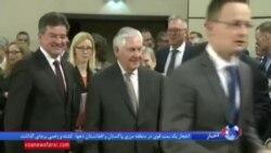 وزیر خارجه آمریکا از ناتو خواست نقش موثرتری در جنگ با داعش داشته باشد