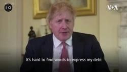 英國首相約翰遜出院後發表影片感謝醫療團隊