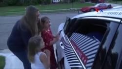 «Դոմինո» պիցցայի ինքնավար մեքենաները