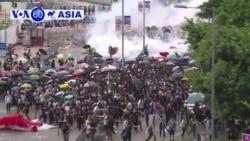 Hong Kong: Biểu tình trở nên bạo động