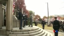 2015-11-11 美國之音視頻新聞: 駐韓美軍紀念退伍軍人紀念日