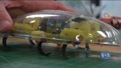Каліфорнійські інженери вчать роботів стрибати, і навіть літати. Відео