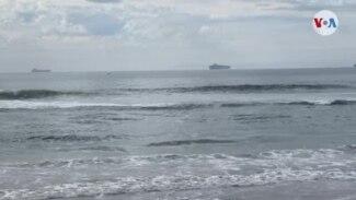 Puerto de Los Ángeles operará 24 horas al día para reducir embotellamiento