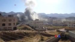 也門殯儀館遭空襲 逾140人喪生