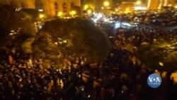 У Вірменії почалися протести, викликані підписанням Вірменією за посередництва Росії угоди з Азербайджаном. Відео