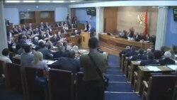 Incident ne parlamentin malazez