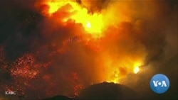 Experts See Multiple Causes of California Fires