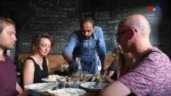 13 Avropa şəhərində qaçqın yemək festivalı keçirilir