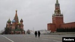 Babu kowa a dandalin Red Square sai 'yan sanda