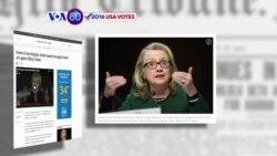 Manchetes Americanas 9 Agosto: Os pais de americanos que morreram em Bengazi processam Hillary Clinton