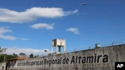 Penjara Altamira, di negara bagian Para, Brazil. (Foto: dok).