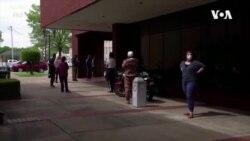 美國失業救助申領人數下降