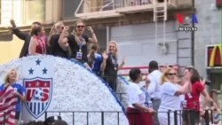 Canyon of Heroes Greet U.S. Women's Team in New York