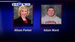 VOA60 America - Suspected Killer of US Journalists Shoots Himself - August 26, 2015