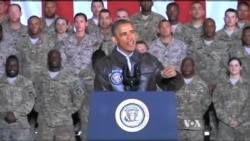 President Obama Makes Unannounced Trip to Afghanistan