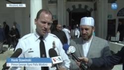 Amerikalı Polis Müdüründen Camiye Dayanışma Ziyareti
