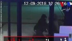 فیلمی از حمله سارقان به یک مغازه در تگزاس
