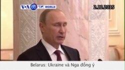 Đạt thỏa thuận ngưng bắn ở miền đông Ukraine (VOA60)