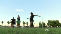 Children of Refugee Families Play Soccer in Phoenix