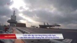 Hàng không mẫu hạm Trung Quốc đến Biển Đông giữa lúc căng thẳng
