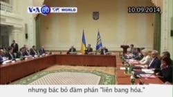 TT Ukraine đề nghị cấp quy chế đặc biệt cho một số khu vực (VOA60)