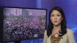 Biểu tình rầm rộ, Thái Lan giải tán Quốc hội