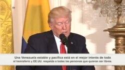 """Trump: """"Venezuela es un país que ha estado en malas manos"""""""