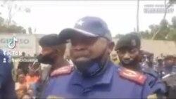 Marche ya Lamuka: Commissaiare Div. Adj. Sylvano Kasongo alaki kokanga bato bakomeka mercredi
