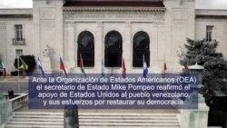 Punto de Vista: Pompeo OEA