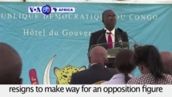 VOA60 Africa - DRC: Prime Minister Augustin Matata Ponyo resigns