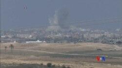 2014-08-08 美國之音視頻新聞: 以色列哈馬斯重新開戰
