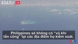 Manila sẽ không đưa 'vũ khí tấn công' ra Biển Đông (VOA60 châu Á)